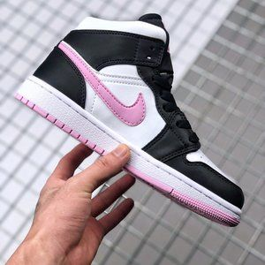 Air Jordan Mid Pink Hook